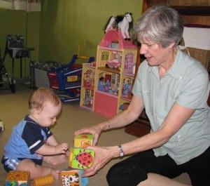 Grandma & Simeon