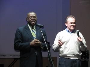 President of Baptist World Alliance & My first translator Sergey